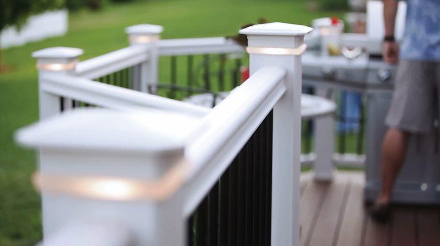 Deck lighting ideas landscaping network led deck lights post cap lights timbertech wilmington oh aloadofball Choice Image