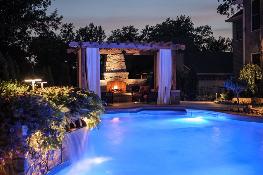 St Louis Backyard Resort Landscape Landscaping Network