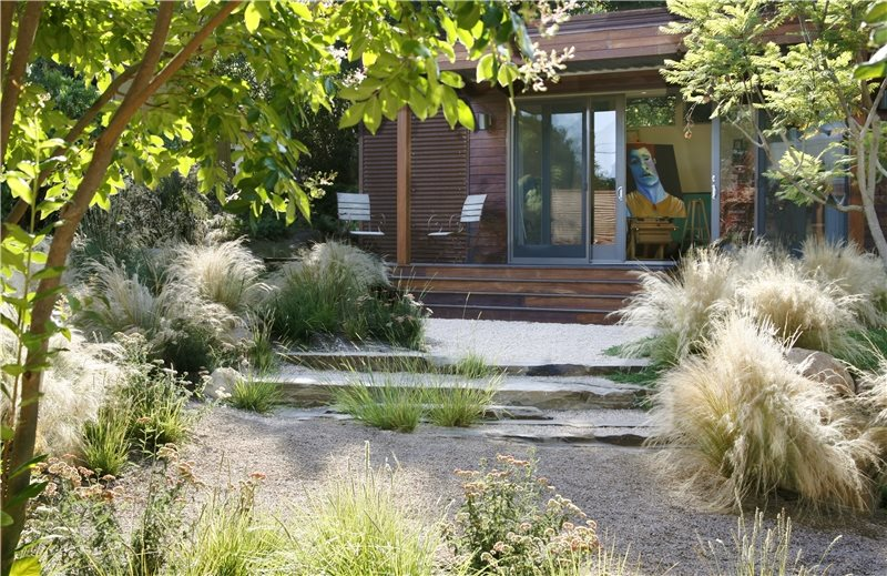 Xeriscaping ideas landscaping network for Landscape design using ornamental grasses