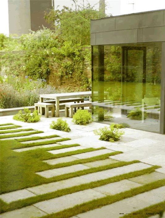 Modern English Garden Design Landscaping Network