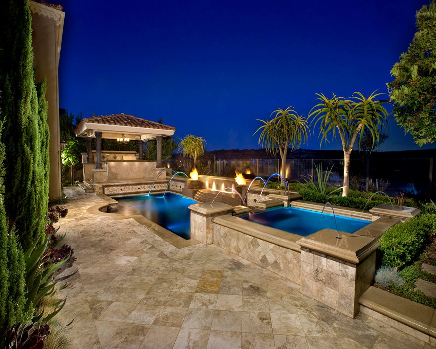 Garden Ideas Around Swimming Pools pool landscaping ideas - landscaping network