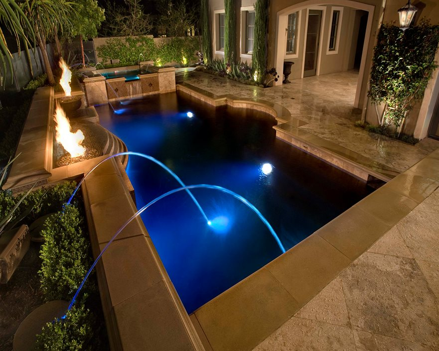 Inground pools landscaping network for Least expensive inground pool