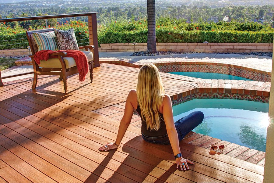 Wood Pool Decks Landscaping Network