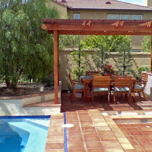Small Backyard Pergola: Beautiful Backyard Makeover With Pictures