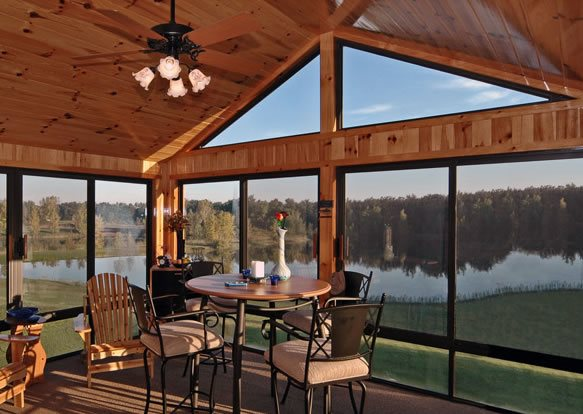 Sunroom ideas landscaping network for Four season porch plans