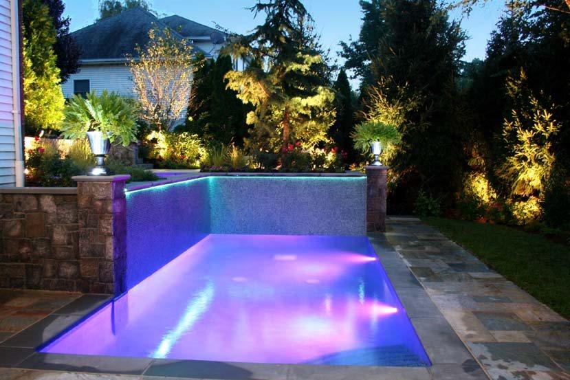 swimming pool fiber optics cipriano landscape design mahwah nj
