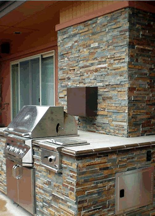 Stone Veneer For Outdoor Kitchens
