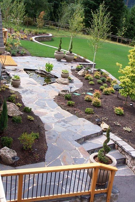 Backyard Lake Landscaping - Landscaping Network