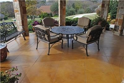 Stained Concrete Landscaping Network