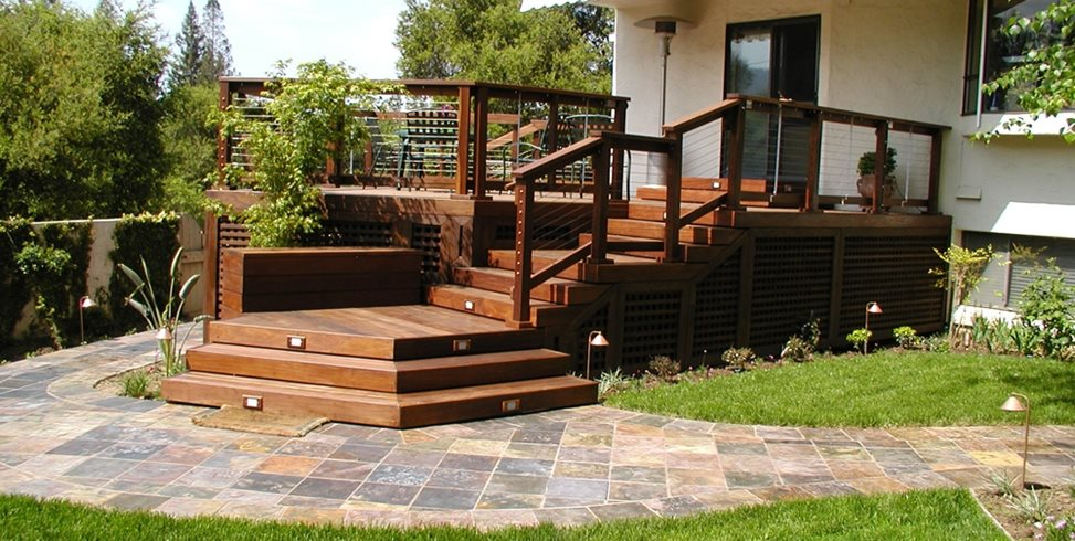 Deck Designs And Ideas For Backyards Front Yards Landscaping