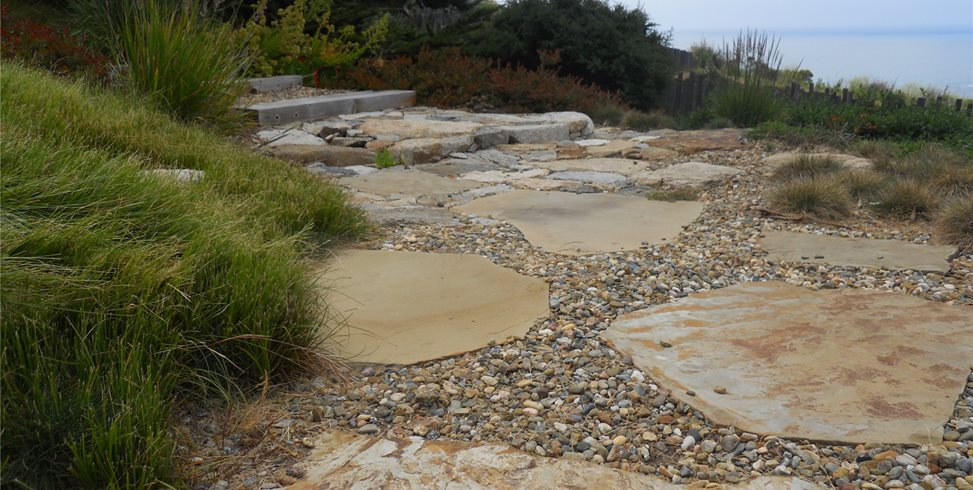 flagstone walkways - Flagstone Walkway Design Ideas