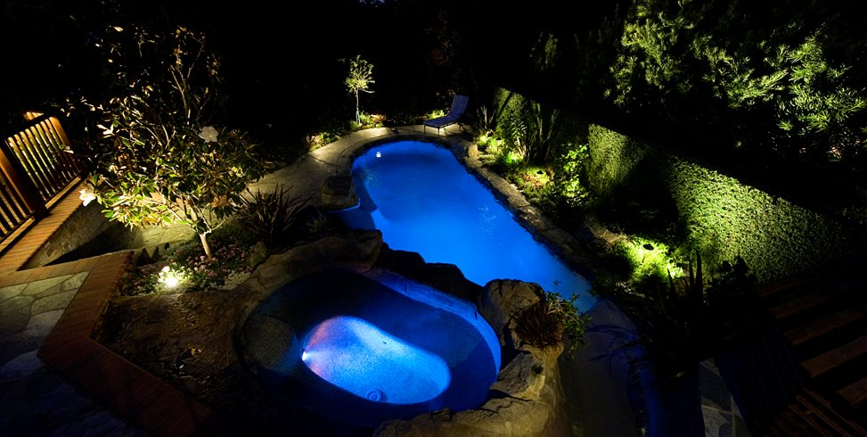 Pool Lighting Lifescape Designs Simi Valley, CA