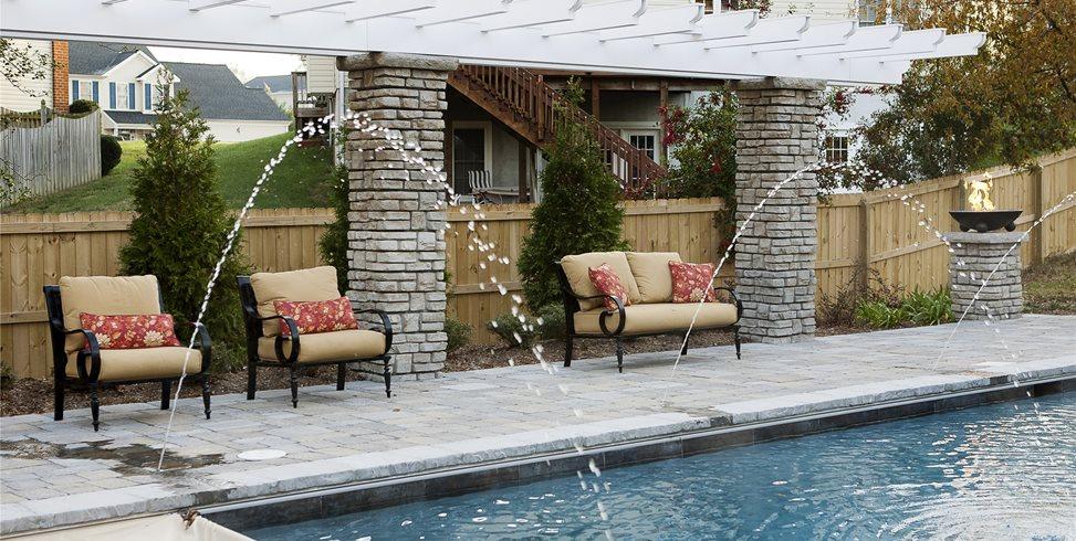 Pool Pergola Mid Atlantic Enterprise Inc Williamsburg, VA