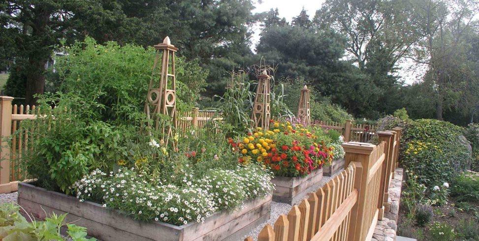 Raised Planter Christensen Landscape Services Northford, CT