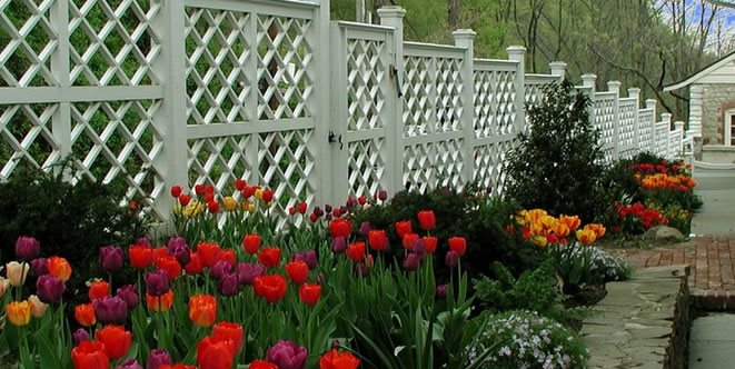 White Fence, Diamond Fence Gates and Fencing Summerset Gardens Warwick, NY