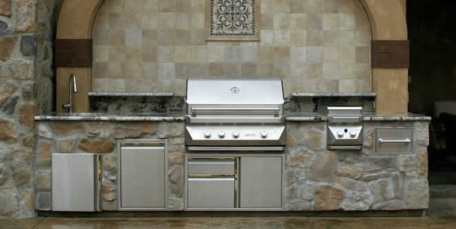 stainless steel outdoor cabinets