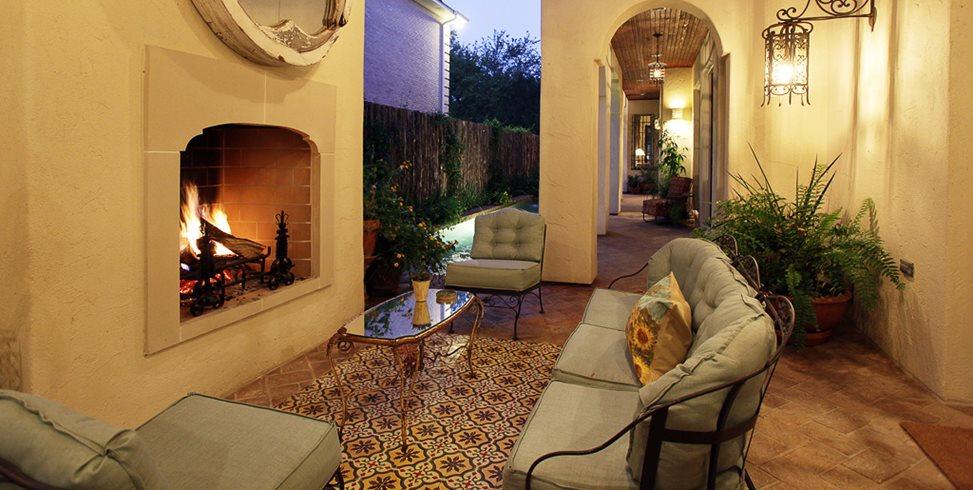 Tiled Patio Granada Tile Los Angeles, CA