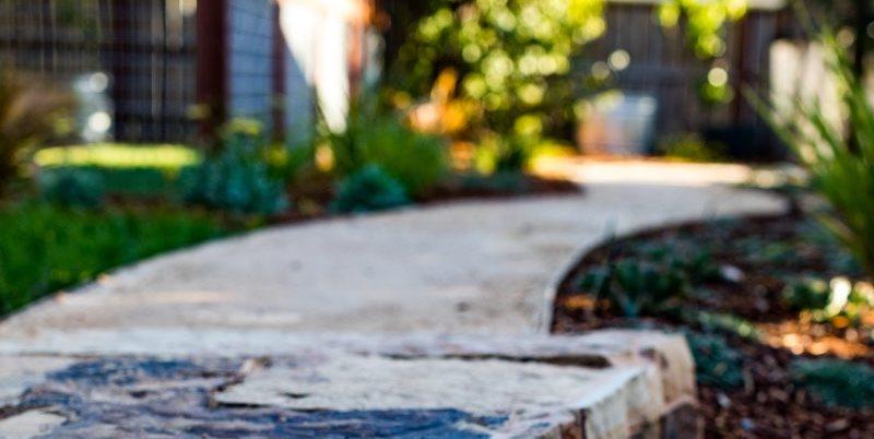 Decomposed Granite, Permeable Walkway Greener Environments Los Osos, CA