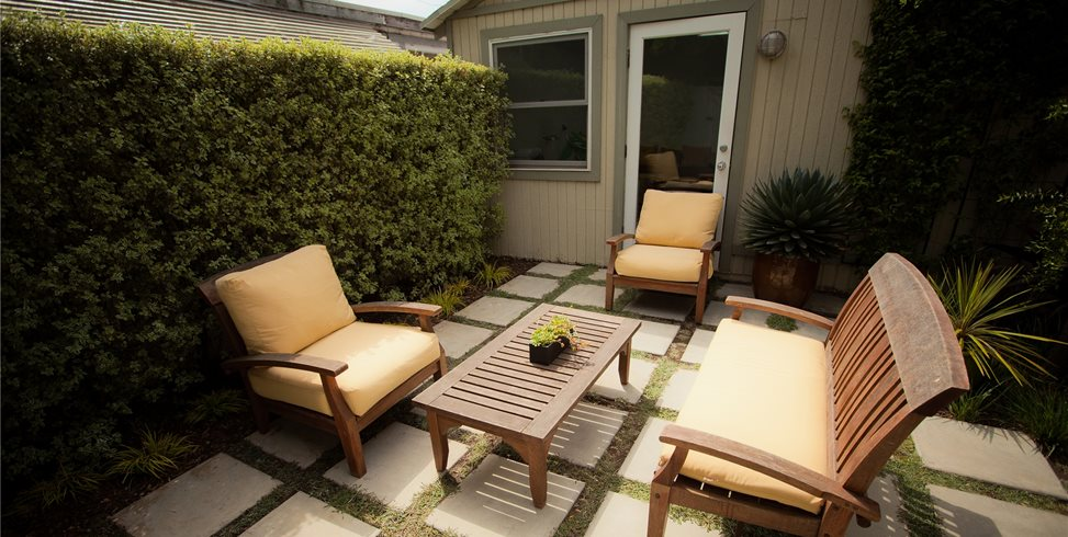 Concrete Backyard Landscaping Design concrete patio - design ideas, and cost - landscaping network