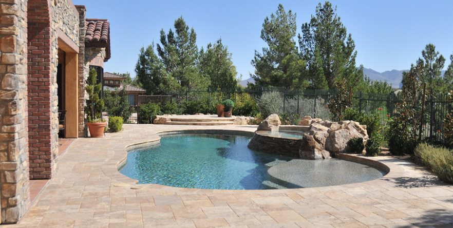 Pavers landscaping network for Las vegas stone yards