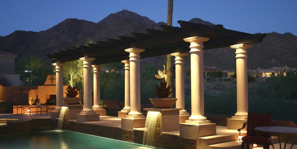 Pergola, Columns, Lighting Pergola and Patio Cover JSL Landscape LLC Sedona, AZ