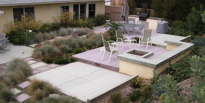 Backyard Entertainment Area FormLA Landscaping, Inc. Tujunga, CA