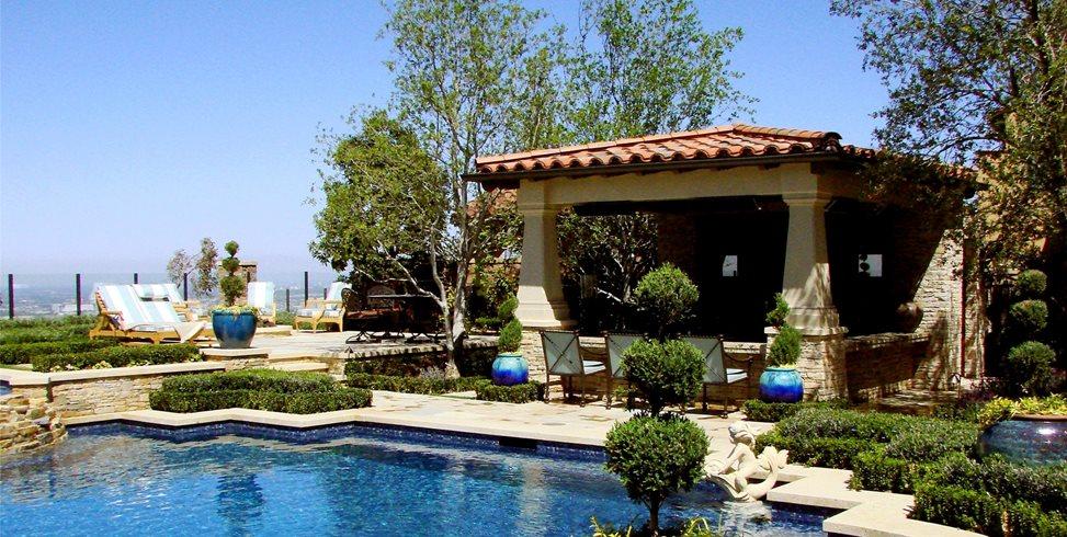 Backyard Resort AMS Landscape Design Studios Newport Beach, CA