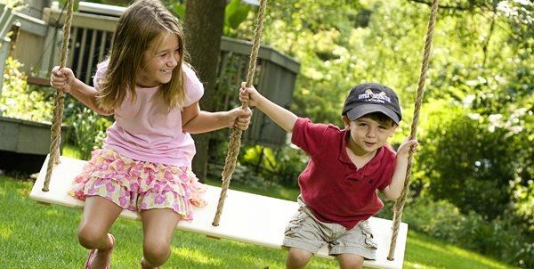 Breezy Wooden Swings