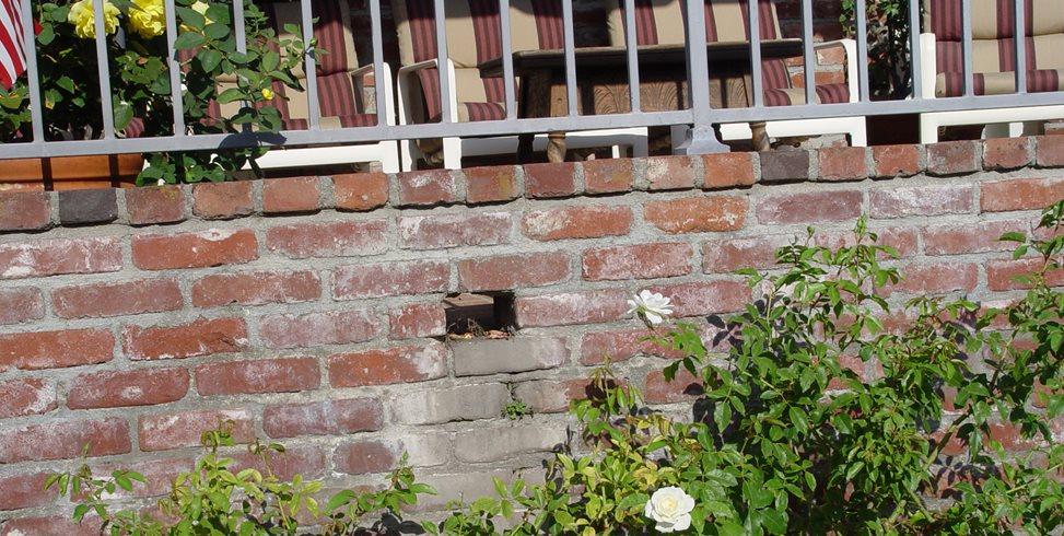 Brick Wall, Drain Maureen Gilmer Morongo Valley, CA