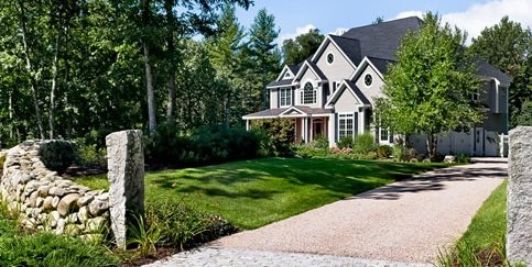 Country Driveway Charles C Hugo Landscape Design South Berwick, ME