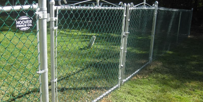 Green Chain Link Hoover Fence Co. ,