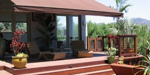 Large Deck Design Elow Landscape Design and Build Los Angeles, CA