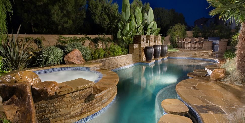 Superbe Luxury Pool Alderete Pools Inc. San Clemente, CA