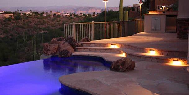 Outdoor Step Lights Alexon Design Group Gilbert, AZ