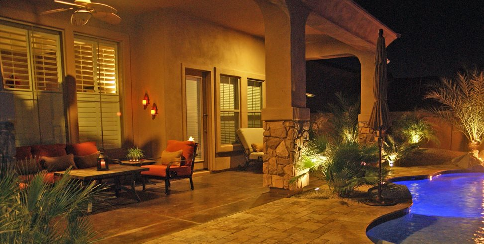 Patio Lighting Alexon Design Group Gilbert, AZ