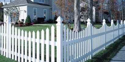 Picket Fence Corner CertainTeed ,