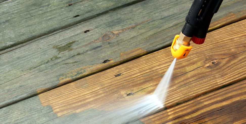 Power Washing Deck Landscaping Network Calimesa, CA