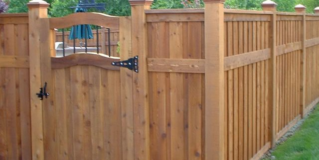 privacy fence paradise restored landscaping portland or - Fence Design Ideas