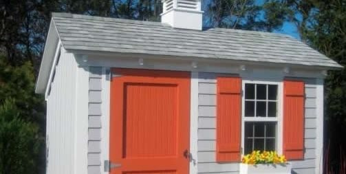 Saltbox, Shed Pine Harbor Wood Products Cape Cod, MA