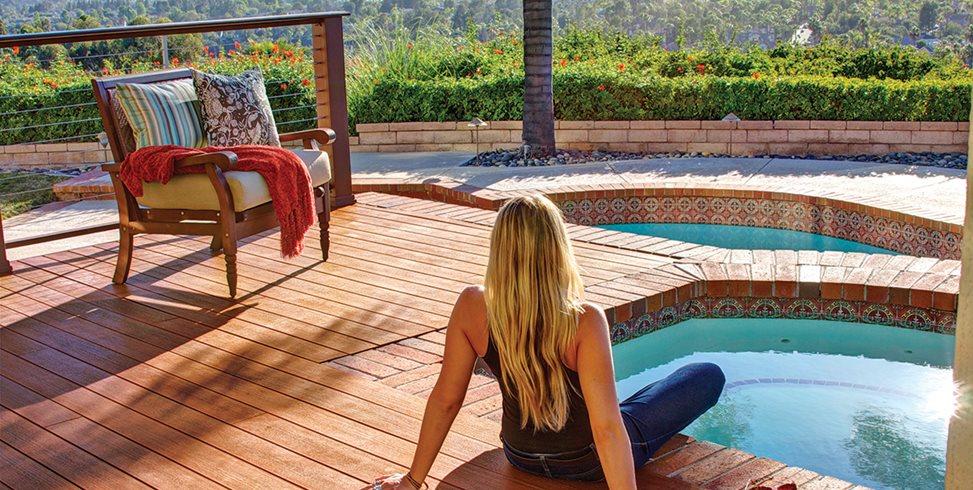 wood pool decks landscaping network. Black Bedroom Furniture Sets. Home Design Ideas