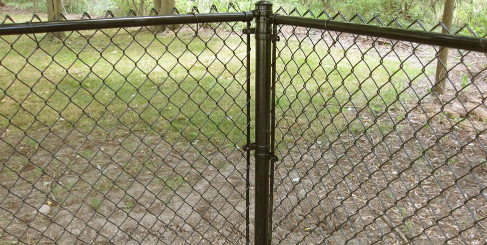 Vinyl Coated Chain Link Hoover Fence Co. ,