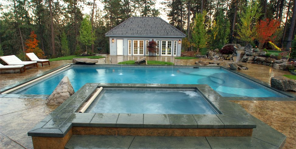 Washington Swimming Pool Copper Creek Landscaping, Inc. Mead, WA