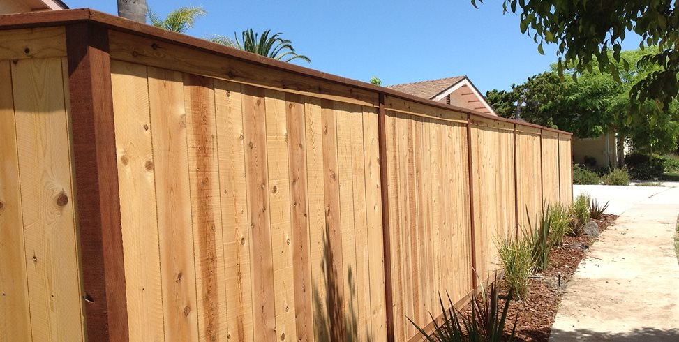 Wooden Fence, Privacy Fence Pacific Sunscapes San Diego, CA