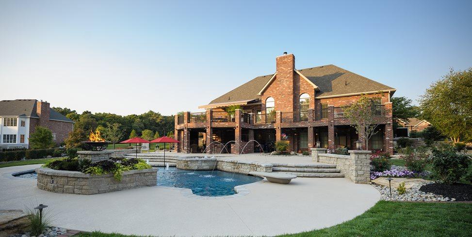 Backyard Pool Artistic Group Inc. St. Louis, MO