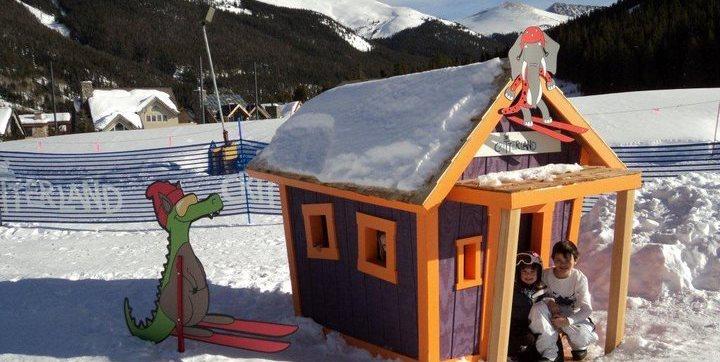 Custom, Crooked, Playhouse, Ski Kids Crooked House ME