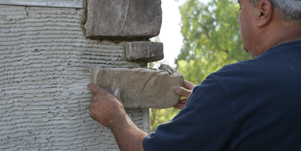 How to Install Stone Veneer