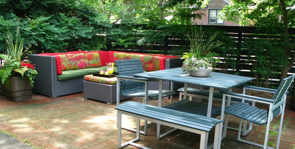 Beautiful City Garden Patio Patio Livable Landscapes Wyndmoor, PA