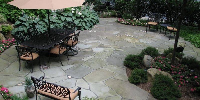 crazy paving design patio sitescapes landscape design stony brook ny - Patio And Landscape Design