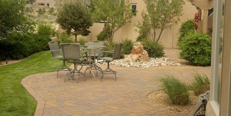 patio size