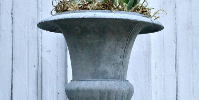Concrete Urn Planter NativeCast Wilmington, DE